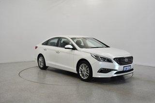 2015 Hyundai Sonata LF Elite White 6 Speed Sports Automatic Sedan.