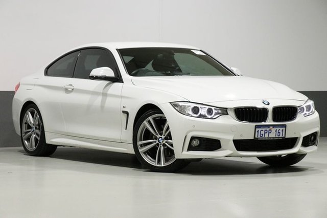 Used BMW 420d F32 Luxury Line, 2013 BMW 420d F32 Luxury Line White 8 Speed Automatic Coupe