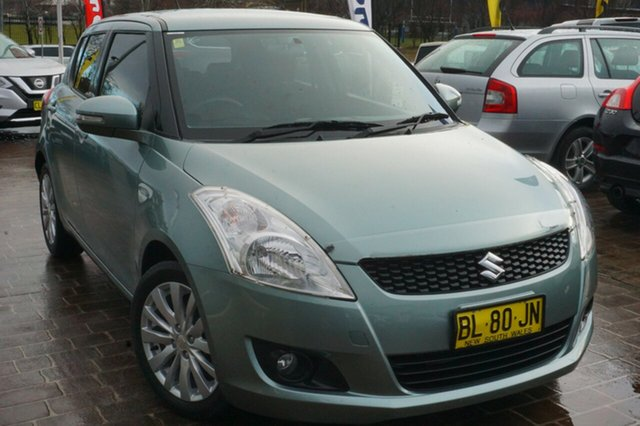 Used Suzuki Swift FZ GLX, 2011 Suzuki Swift FZ GLX Green 4 Speed Automatic Hatchback