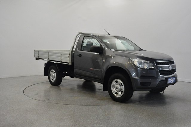Used Holden Colorado RG MY14 LX, 2013 Holden Colorado RG MY14 LX Grey 6 Speed Manual Cab Chassis