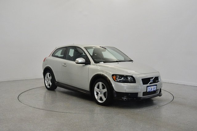 Used Volvo C30 M Series MY10 T5 Geartronic, 2010 Volvo C30 M Series MY10 T5 Geartronic Silver 5 Speed Sports Automatic Hatchback