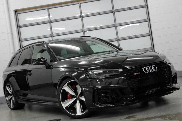 Used Audi RS4 B9 8W MY18 Avant Quattro, 2018 Audi RS4 B9 8W MY18 Avant Quattro Black 8 Speed Sports Automatic Wagon
