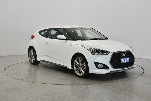 Used Hyundai Veloster FS4 Series II SR Coupe D-CT Turbo, 2016 Hyundai Veloster FS4 Series II SR Coupe D-CT Turbo Storm Trooper 7 Speed