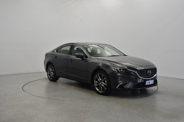 Used Mazda 6 GL1031 Atenza SKYACTIV-Drive, 2016 Mazda 6 GL1031 Atenza SKYACTIV-Drive Grey 6 Speed Sports Automatic Sedan