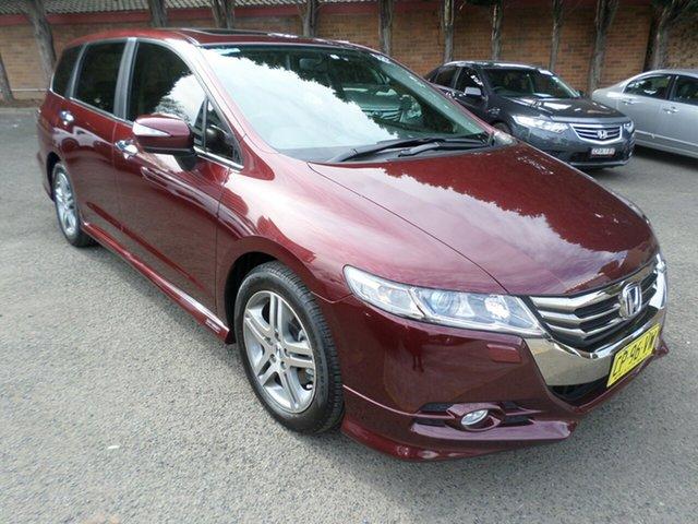 Used Honda Odyssey 4th Gen MY13 Luxury, 2013 Honda Odyssey 4th Gen MY13 Luxury Red 5 Speed Sports Automatic Wagon