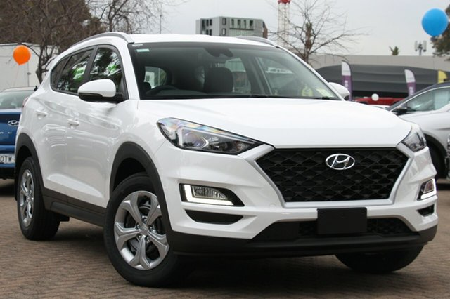 New Hyundai Tucson TL3 MY19 Go AWD, 2018 Hyundai Tucson TL3 MY19 Go AWD Pure White 8 Speed Sports Automatic Wagon