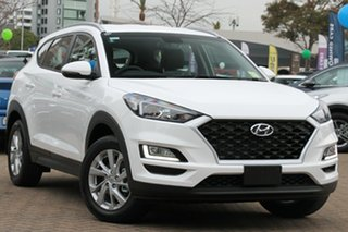 2018 Hyundai Tucson TL3 MY19 Active X AWD Pure White 8 Speed Sports Automatic Wagon.