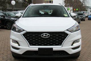 2018 Hyundai Tucson TL3 MY19 Go AWD Pure White 8 Speed Sports Automatic Wagon