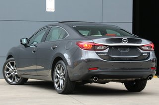 2017 Mazda 6 GL1031 Atenza SKYACTIV-Drive Machine Grey 6 Speed Sports Automatic Sedan.