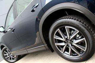 2017 Mazda CX-5 KF4WLA GT SKYACTIV-Drive i-ACTIV AWD Blue 6 Speed Sports Automatic Wagon