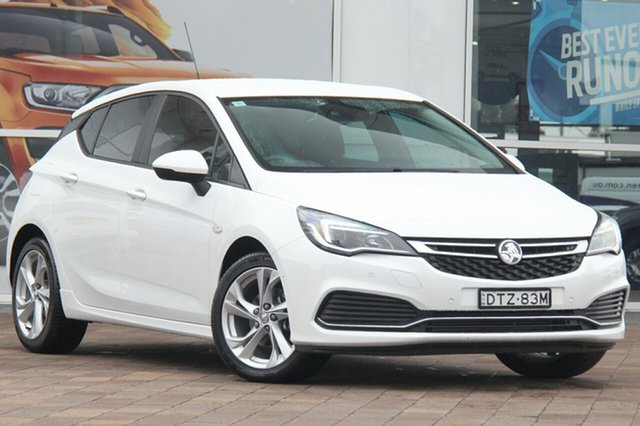 Used Holden Astra BK MY17 RS, 2016 Holden Astra BK MY17 RS White 6 Speed Manual Hatchback
