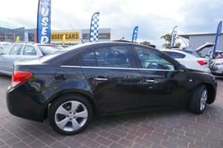 2011 Holden Cruze JG CDX Black 6 Speed Sports Automatic Sedan