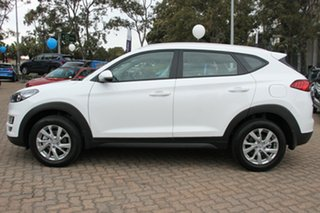 2018 Hyundai Tucson TL3 MY19 Active X AWD Pure White 8 Speed Sports Automatic Wagon