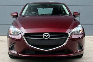 2017 Mazda 2 DJ2HA6 Neo SKYACTIV-MT Deep Crimson 6 Speed Manual Hatchback