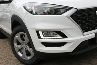 2018 Hyundai Tucson TL3 MY19 Go AWD Pure White 8 Speed Sports Automatic Wagon.