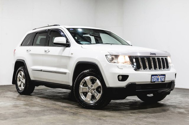 Used Jeep Grand Cherokee WK MY2012 Laredo, 2012 Jeep Grand Cherokee WK MY2012 Laredo White 5 Speed Sports Automatic Wagon