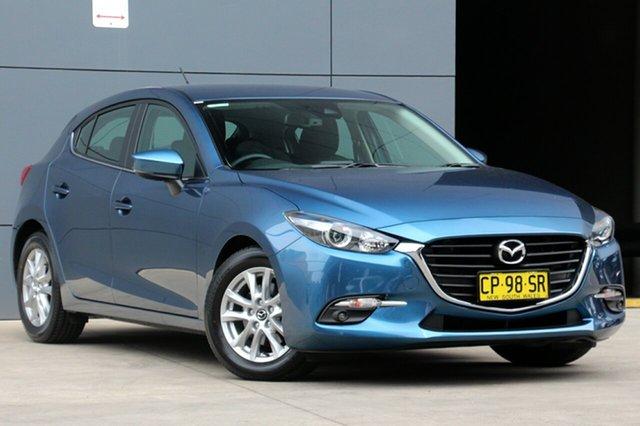 Demo Mazda 3 BN5478 Maxx SKYACTIV-Drive Sport, 2018 Mazda 3 BN5478 Maxx SKYACTIV-Drive Sport Eternal Blue 6 Speed Sports Automatic Hatchback