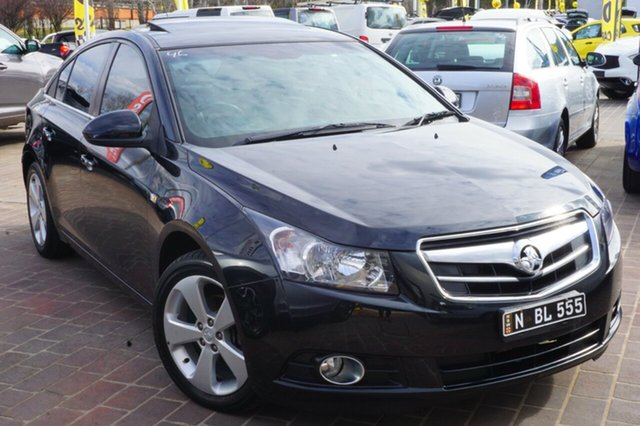 Used Holden Cruze JG CDX, 2011 Holden Cruze JG CDX Black 6 Speed Sports Automatic Sedan