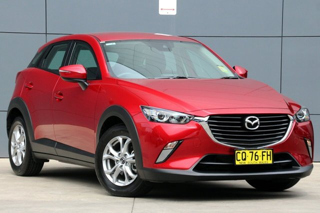Demo Mazda CX-3 DK2W7A Maxx SKYACTIV-Drive, 2018 Mazda CX-3 DK2W7A Maxx SKYACTIV-Drive Soul Red 6 Speed Sports Automatic Wagon