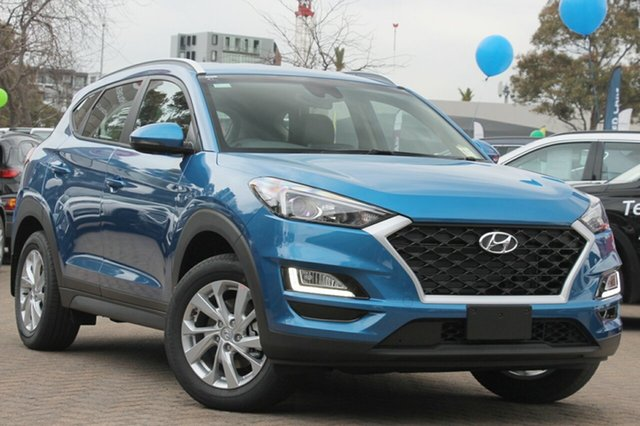New Hyundai Tucson TL3 MY19 Active X 2WD, 2018 Hyundai Tucson TL3 MY19 Active X 2WD Aqua Blue 6 Speed Automatic Wagon