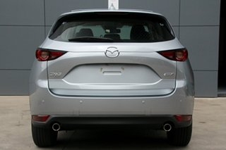2017 Mazda CX-5 KF4W2A Touring SKYACTIV-Drive i-ACTIV AWD Sonic Silver 6 Speed Sports Automatic