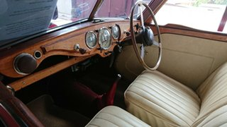 1948 Riley RM Saloon Red 4 Speed Manual Sedan