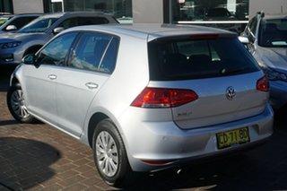 2015 Volkswagen Golf VII MY15 90TSI DSG Comfortline Silver 7 Speed Sports Automatic Dual Clutch