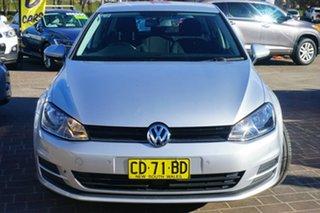 2015 Volkswagen Golf VII MY15 90TSI DSG Comfortline Silver 7 Speed Sports Automatic Dual Clutch.