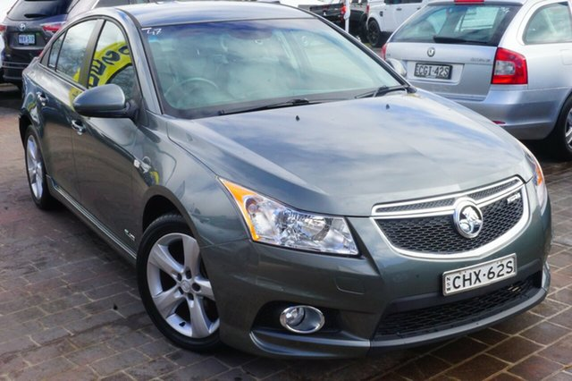 Used Holden Cruze JH Series II MY12 SRi-V, 2012 Holden Cruze JH Series II MY12 SRi-V Grey 6 Speed Manual Sedan