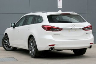 2018 Mazda 6 GL1032 Touring SKYACTIV-Drive Snowflake White 6 Speed Sports Automatic Wagon.