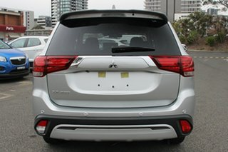 2018 Mitsubishi Outlander ZL MY19 LS 7 Seat (2WD) Sterling Silver Continuous Variable Wagon