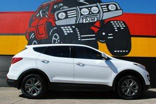 2014 Hyundai Santa Fe DM MY14 Active Cool White 6 Speed Sports Automatic Wagon.
