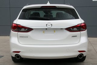 2018 Mazda 6 GL1032 Touring SKYACTIV-Drive Snowflake White 6 Speed Sports Automatic Wagon