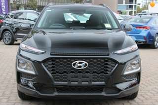 2019 Hyundai Kona OS.3 MY20 Active 2WD Phantom Black 6 Speed Sports Automatic Wagon