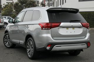 2018 Mitsubishi Outlander ZL MY19 LS 7 Seat (2WD) Sterling Silver Continuous Variable Wagon.