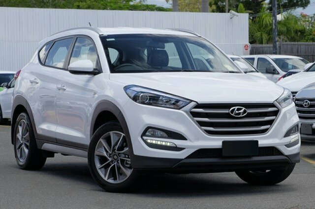 Demo Hyundai Tucson TL MY18 Active X 2WD, 2017 Hyundai Tucson TL MY18 Active X 2WD Pure White 6 Speed Sports Automatic Wagon
