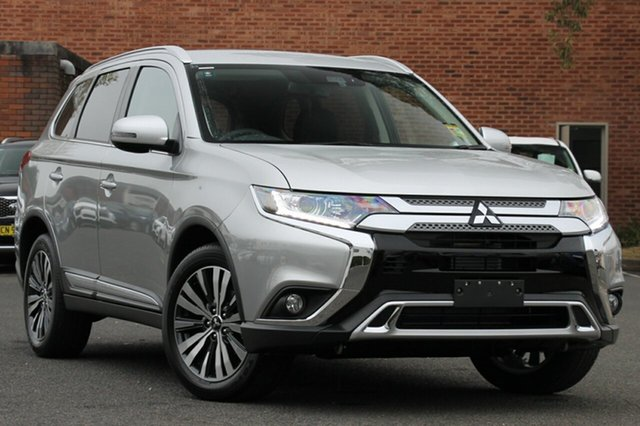 New Mitsubishi Outlander ZL MY19 LS 7 Seat (2WD), 2018 Mitsubishi Outlander ZL MY19 LS 7 Seat (2WD) Sterling Silver Continuous Variable Wagon