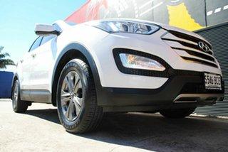 2014 Hyundai Santa Fe DM MY14 Active Cool White 6 Speed Sports Automatic Wagon