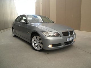 2006 BMW 3 Series E90 325i Steptronic Ice Green 6 Speed Sports Automatic Sedan.