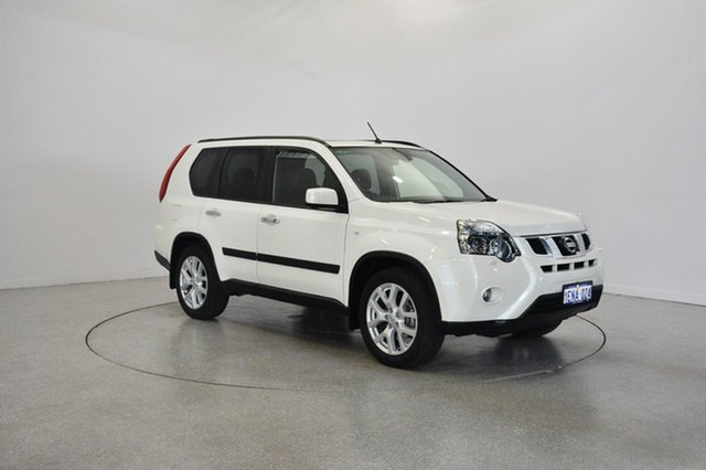 Used Nissan X-Trail T31 Series V TI, 2013 Nissan X-Trail T31 Series V TI White 1 Speed Constant Variable Wagon
