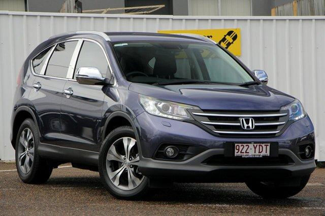 Used Honda CR-V RM MY14 DTi-L 4WD, 2014 Honda CR-V RM MY14 DTi-L 4WD Blue 5 Speed Sports Automatic Wagon
