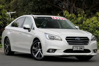 2016 Subaru Liberty B6 MY16 2.5i CVT AWD Premium Crystal White 6 Speed Constant Variable Sedan.
