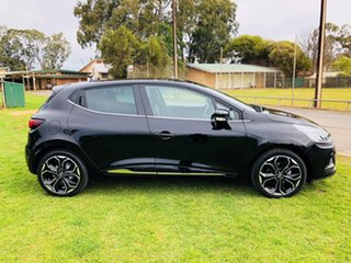 2018 Renault Clio IV B98 Phase 2 Intens EDC Diamond Black 6 Speed Sports Automatic Dual Clutch