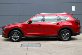 2018 Mazda CX-8 KG2W2A Sport SKYACTIV-Drive FWD Soul Red Crystal 6 Speed Sports Automatic Wagon