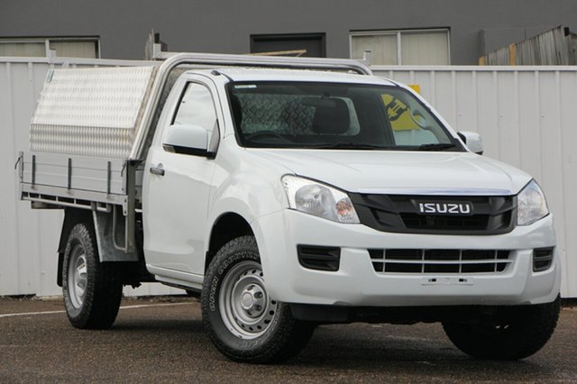 Used Isuzu D-MAX MY14 SX 4x2, 2014 Isuzu D-MAX MY14 SX 4x2 White 5 Speed Manual Cab Chassis