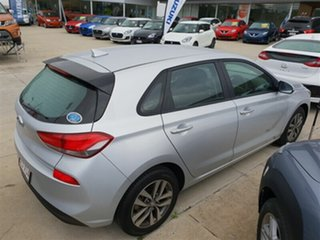 2017 Hyundai i30 PD MY18 Active Platinum Silver 6 Speed Sports Automatic Hatchback.