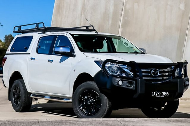 Demo Mazda BT-50 UR0YG1 XTR, 2018 Mazda BT-50 UR0YG1 XTR Cool White 6 Speed Sports Automatic Utility