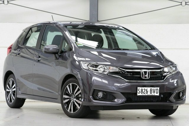 Demo Honda Jazz GF MY19 VTi-S, 2018 Honda Jazz GF MY19 VTi-S Modern Steel 1 Speed Constant Variable Hatchback