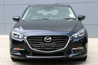 2018 Mazda 3 BN5438 SP25 SKYACTIV-Drive Jet Black 6 Speed Sports Automatic Hatchback