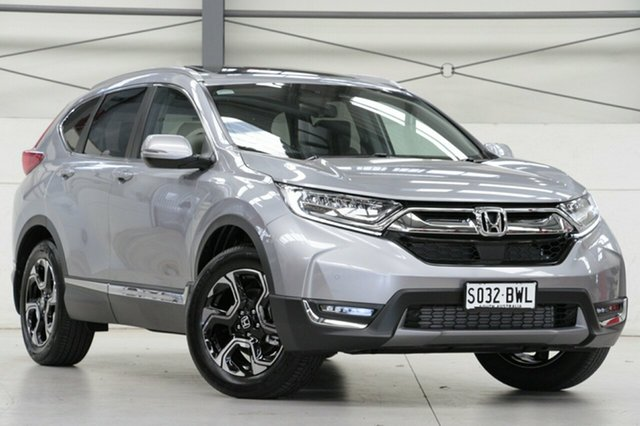 Demo Honda CR-V RW MY18 VTi-LX 4WD, 2018 Honda CR-V RW MY18 VTi-LX 4WD Lunar Silver 1 Speed Constant Variable Wagon